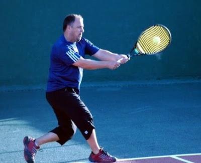 golpe de tenis inglés